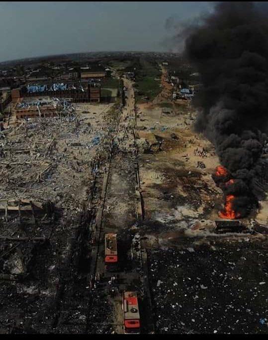 Femi Fani-Kayode has criticized Buhari over Lagos Gas explosion