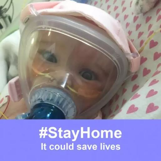 Six-month-old baby has defeated COVID-19, while also battling with a heart condition and lung problem