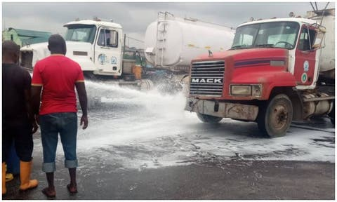 An accident involving two fuel tankers on Friday morning stalled movement along Lagos-Ibadan Expressway.