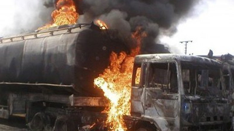 Shops and Houses razed in Niger tanker explosion
