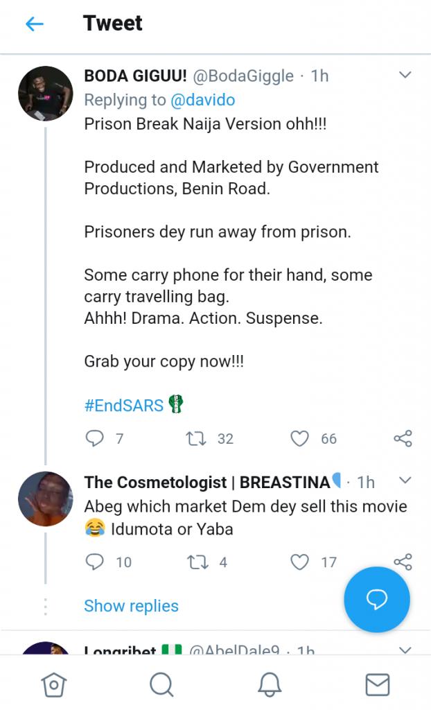 Jailbreak in Edo State