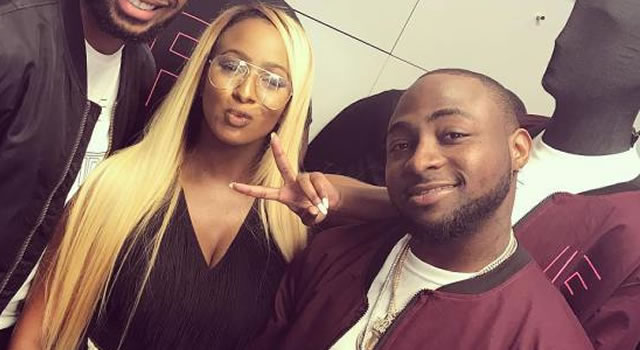 DJ Cuppy begs Davido to sign her to DMW