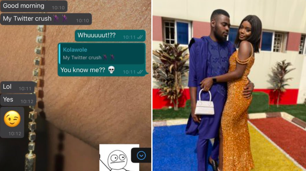 Nigerian lady falling in love with her Bolt driver, after shooting her shot