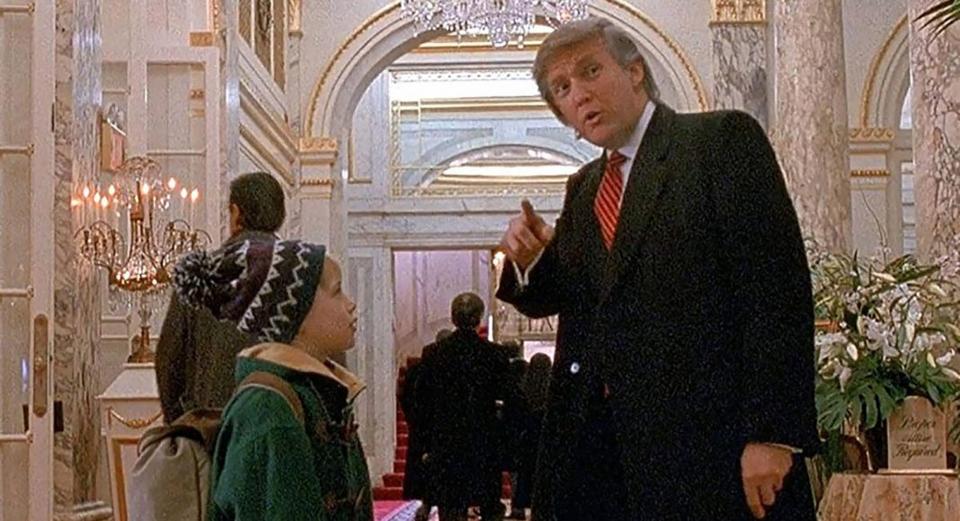 Actor, Macaulay Culkin supports Donald Trump Removed From Home Alone 2: Lost In New York.