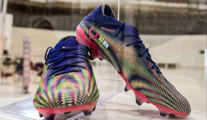 Lionel Messi Auction Historic Boots to Raise Money For Children Fighting Cancer