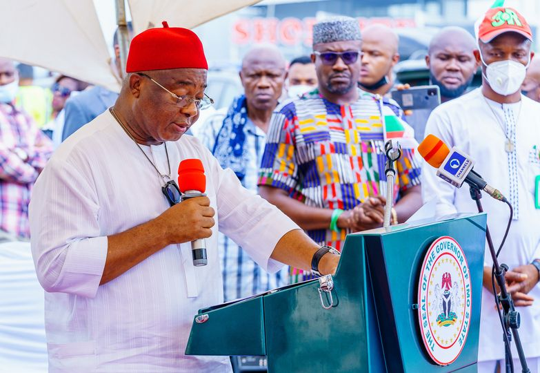 Uzodinma threatens to depose Imo monarchs if they fail to address insecurity in their communities