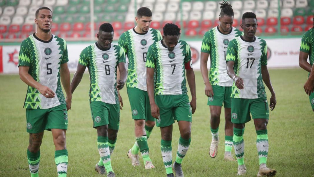 Super Eagles of Nigeria moves to 32nd places in new FIFA Ranking
