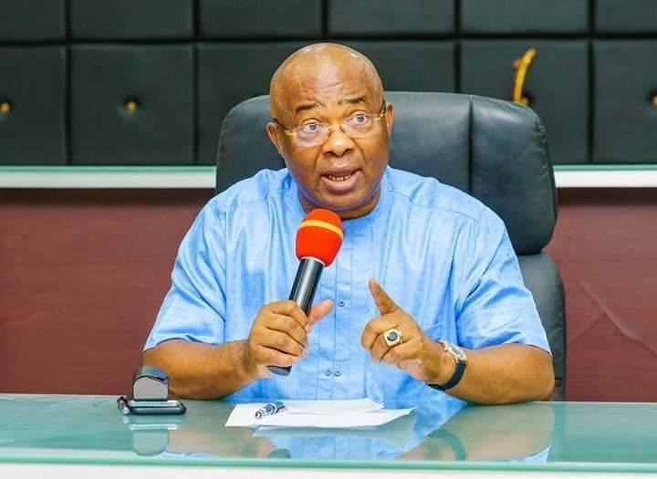 Fear as gunmen set Gov Uzodinma's Residence ablaze after killing security aides