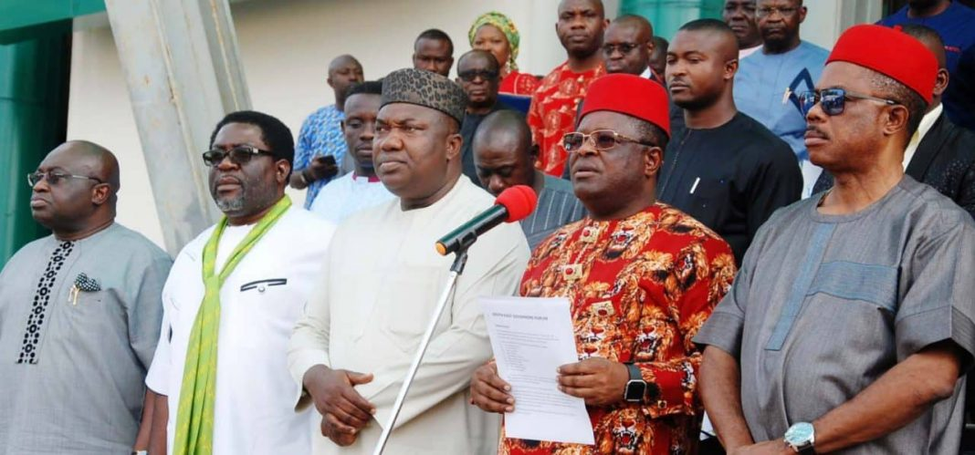 South-East governors announce joint security outfit