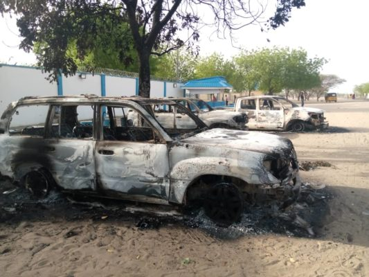 UN facilities burnt, vehicles stolen as Boko Haram attacks Borno community, killing four including soldiers