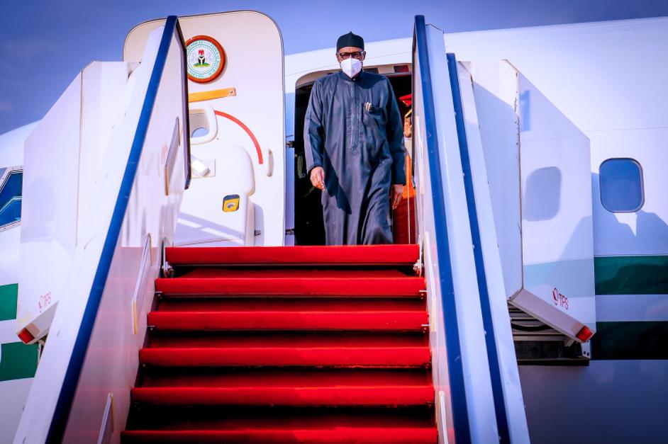 President Buhari Arrives Nigeria After Spending Two Weeks in UK