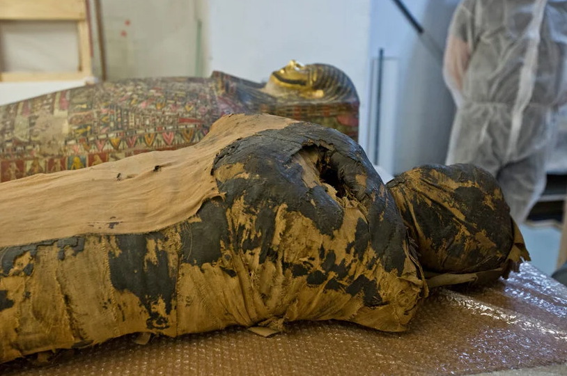 World's first pregnant Egyptian mummy discovered
