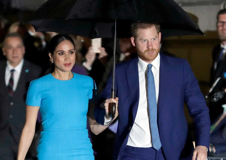 Prince Harry and Meghan Markle mourn Prince Philip