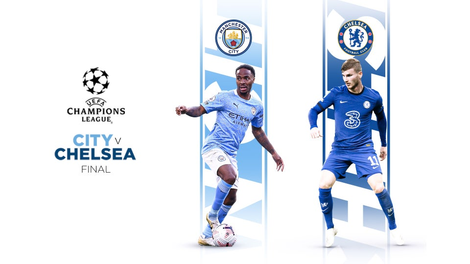Manchester City vs Chelsea - Third all-English club to play in final
