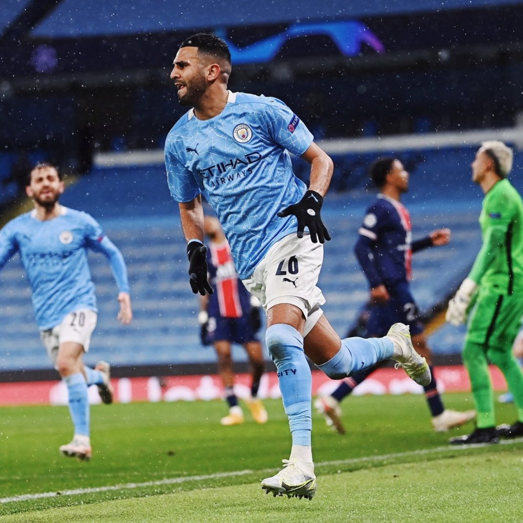 Manchester City reach 1st-ever champions league final after beating PSG both home and away