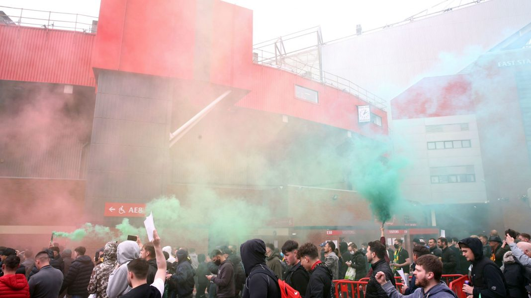 Man United vs Liverpool Premier League Match Postponed After Angry Fans Storm Old Trafford