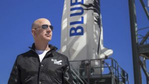 Jeff Bezos and three others reach space on 1st passenger flight, becomes second billionaire to reach space